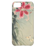 Lily and Butterflies by Ohara Koson Case For iPhone 5C