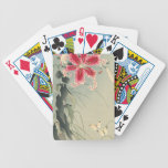 Lily and Butterflies by Ohara Koson Bicycle Card Decks