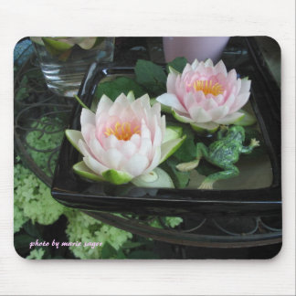 Lily and Frog Mouse Pad