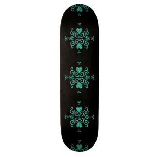 Lily and Heart Fantasy Rainbowart Skate Boards