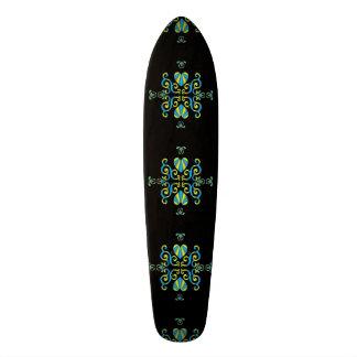 Lily and Heart Fantasy Rainbowart Skateboard Deck