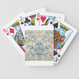 Lily and Pomegranate Vintage Floral Art Design Bicycle Playing Cards