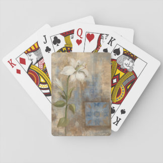 Lily and Tile Poker Deck