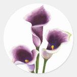 Lily Art Sticker