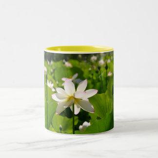 Lily at Los Poblanos Two-Tone Coffee Mug