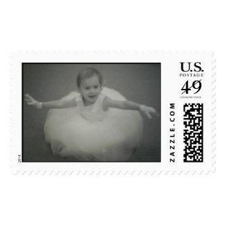 lily balerina postage