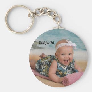 lily beach 6 mthsSingle, Daddy's Girl Keychain