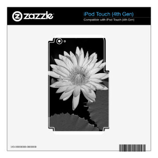 Lily Black and White Style iPod Touch 4G Decal
