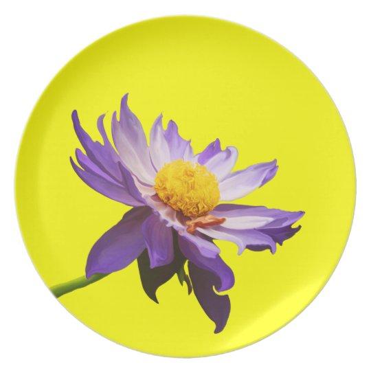 Lily Bloom Melamine Plate
