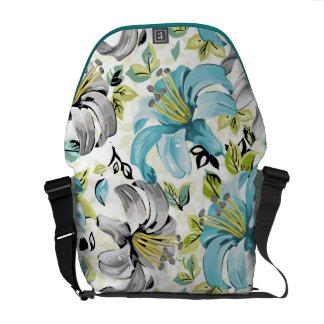 Lily blues Rickshaw Messenger Bag