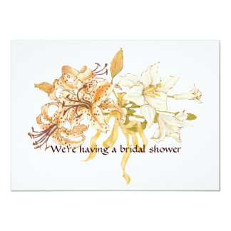 Lily Bouquet Card