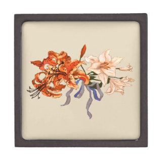 Lily Bouquet Jewelry Box