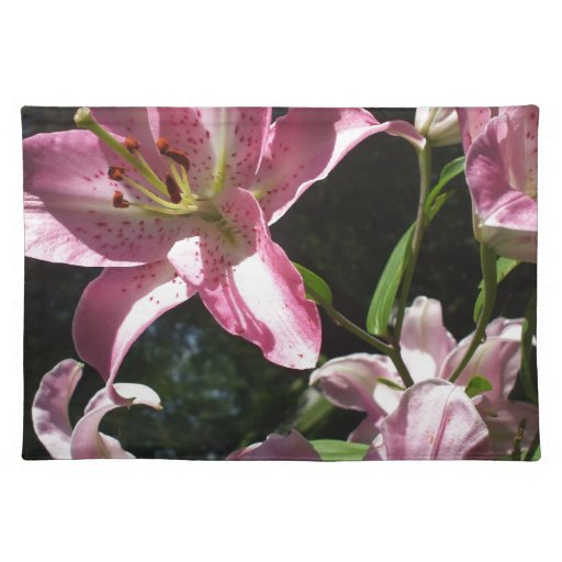Lily Cloth Place Mat