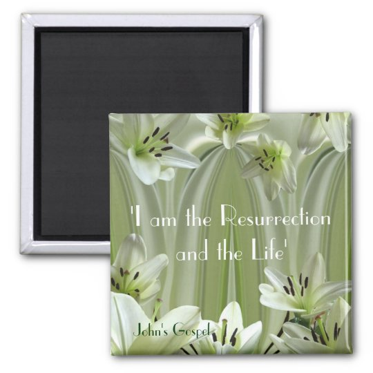 Lily composition magnet