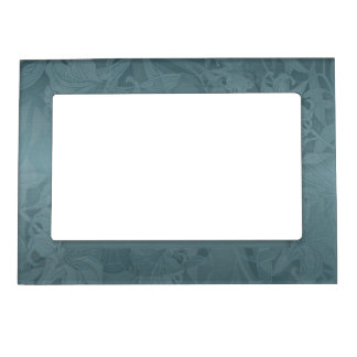LILY -Deep Aqua Magnetic Picture Frame