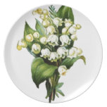 Lily Design Party Plates