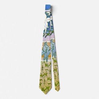 Lily Design Sketches 1901 Neck Tie