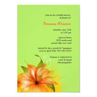 Lily Dew Invitation