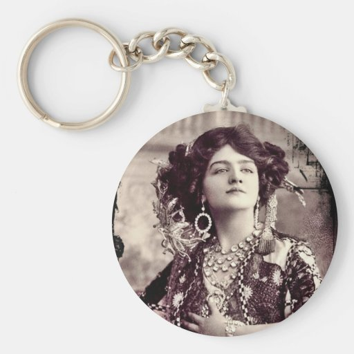 Lily Elsie as The Merry Widow Key Chains