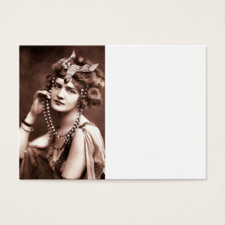 Lily Elsie Merry Widow Business Card