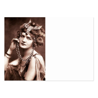 Lily Elsie Merry Widow Large Business Card