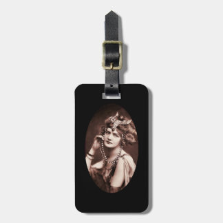 Lily Elsie Merry Widow Luggage Tag