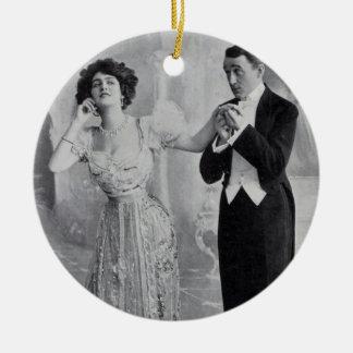 """Lily Elsie """"Summertime"""" Ceramic Ornament"""