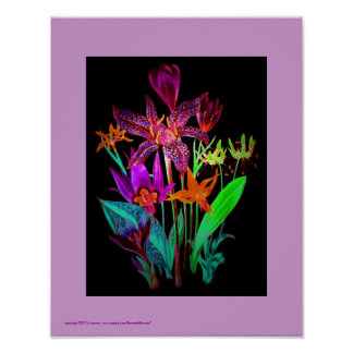 Lily Exotica 11x14 Poster