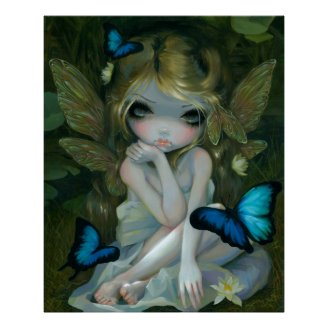 Lily fairy ART PRINT by Jasmine Becket-Griffith