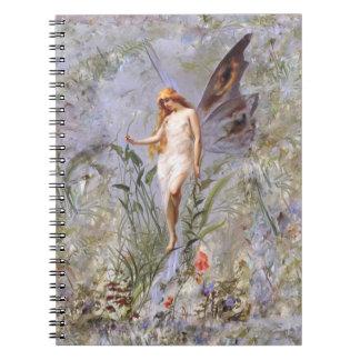 Lily Fairy Purple Lavender Note Books