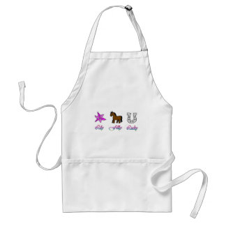Lily Filly Lucky Adult Apron