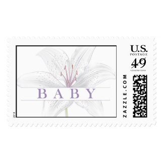 Lily Flower Baby Postage