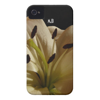Lily Flower  Blackberry Bold Case - Personalized