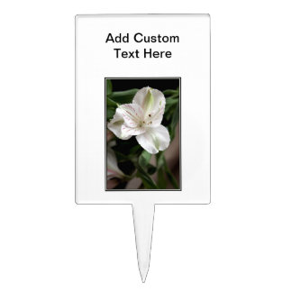 Lily Flower. Cake Toppers