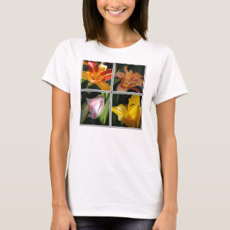 Lily Flower Collage Shirt