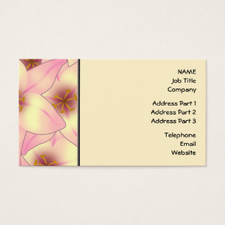 Lily Flower Design Business Card