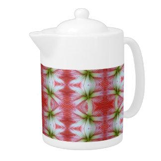 lily flower teapot
