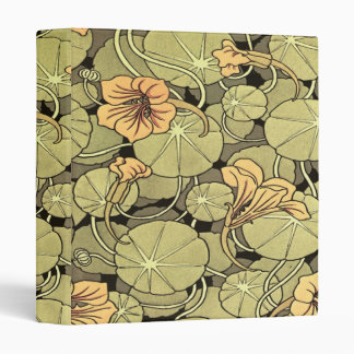 Lily Flowers 3 Ring Binder