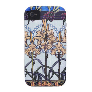 Lily Flowers Case Case-Mate iPhone 4 Case