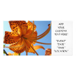 LILY FLOWERS Invitations Cards Lilies Parties Card Photo Cards