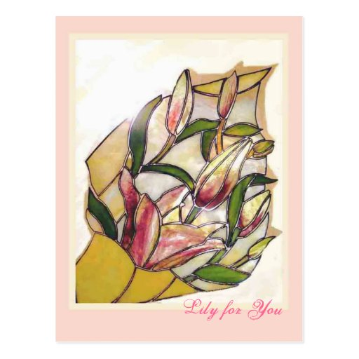 Lily for You ANNIVERSARY cards Postal