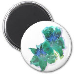 Lily Glow Refrigerator Magnet
