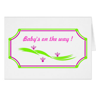 LILY HILL_BABY ON THE WAY! CARD