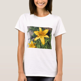 Lily in Yellow T-Shirt