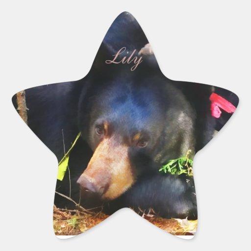 Lily is a Star! Star Sticker