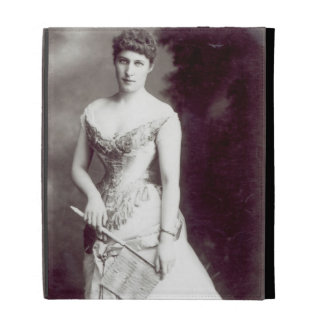 Lily Langtry (1853-1929) performing at the Haymark iPad Folio Case