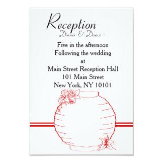 Lily & Lantern Wedding Collection, Reception Card