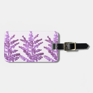 LILY LILLY Flower - Moonshine Violet Voilet Bag Tags