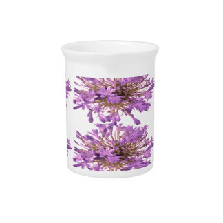 LILY LILLY Flower - Purple Violet Voilet Drink Pitcher