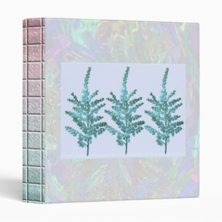 LILY LILY : Flower Floral Blue Moonshine Binder